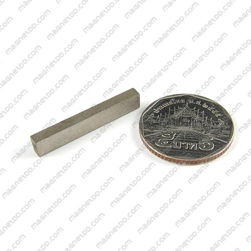 แม่เหล็กแรงสูงทนความร้อน Samarium ขนาด 30mm x 5mm x 3mm แม่เหล็กแรงสูง ทนความร้อน Samarium Cobalt 350C