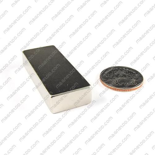 แม่เหล็กแรงสูง Neodymium ขนาด 49mm x 19mm x 10mm แม่เหล็กถาวรนีโอไดเมี่ยม NdFeB (Neodymium)