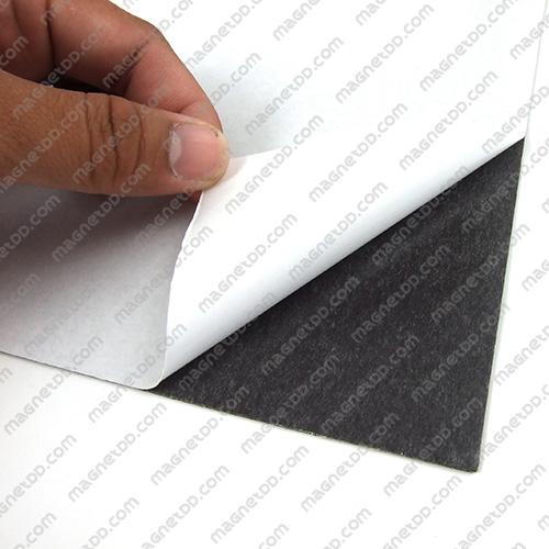 แม่เหล็กยางสติกเกอร์ A4 ขนาด 297mm x 210mm x 1mm แม่เหล็กถาวรยาง Flexible Rubber Magnets