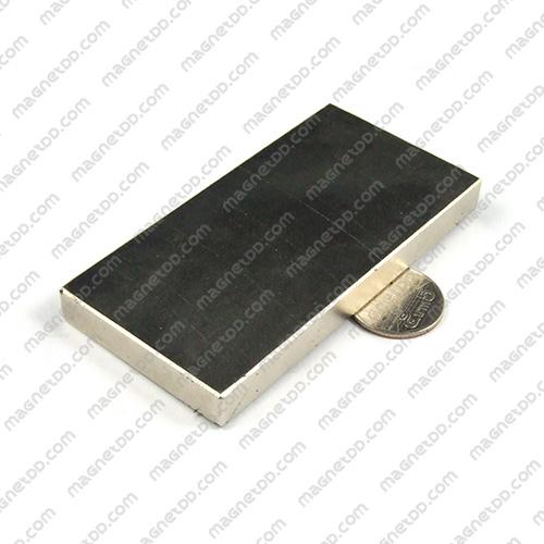 แม่เหล็กแรงสูง Neodymium ขนาด 100mm x 50mm x 10mm แม่เหล็กถาวรนีโอไดเมี่ยม NdFeB (Neodymium)