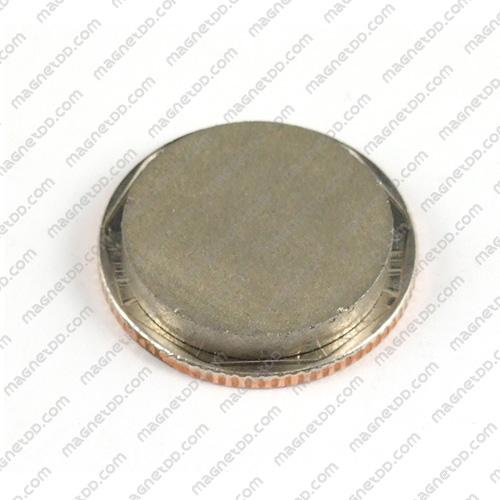 แม่เหล็กแรงสูงทนความร้อน Samarium ขนาด 20mm x 3mm แม่เหล็กแรงสูง ทนความร้อน Samarium Cobalt 350C