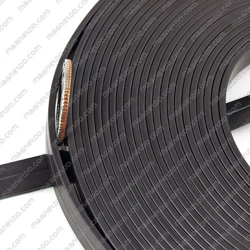 แม่เหล็กยาง ขนาด 10mm x 2mm ยาว 10เมตร - ยกม้วน แม่เหล็กถาวรยาง Flexible Rubber Magnets