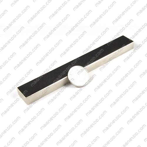 แม่เหล็กแรงสูง Neodymium ขนาด 150mm x 20mm x 10mm - เกรด B แม่เหล็กถาวรนีโอไดเมี่ยม NdFeB (Neodymium)