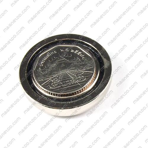 Neodymium Magnetic Cups ขนาด 36mm x 9mm รู 6.5mm แม่เหล็กถาวรนีโอไดเมี่ยม NdFeB (Neodymium)