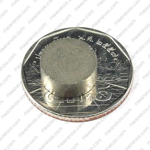 แม่เหล็กแรงสูงทนความร้อน Samarium ขนาด 12mm x 5mm แม่เหล็กแรงสูง ทนความร้อน Samarium Cobalt 350C