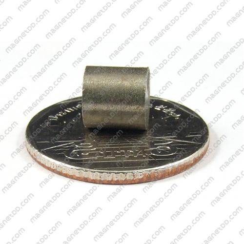 แม่เหล็กแรงสูงทนความร้อน Samarium ขนาด 8mm x 8mm แม่เหล็กแรงสูง ทนความร้อน Samarium Cobalt 350C