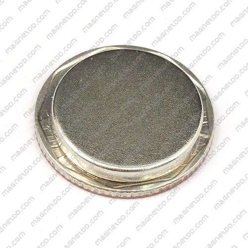 แม่เหล็กแรงสูง Neodymium ขนาด 20mm x 3mm แม่เหล็กถาวรนีโอไดเมี่ยม NdFeB (Neodymium)