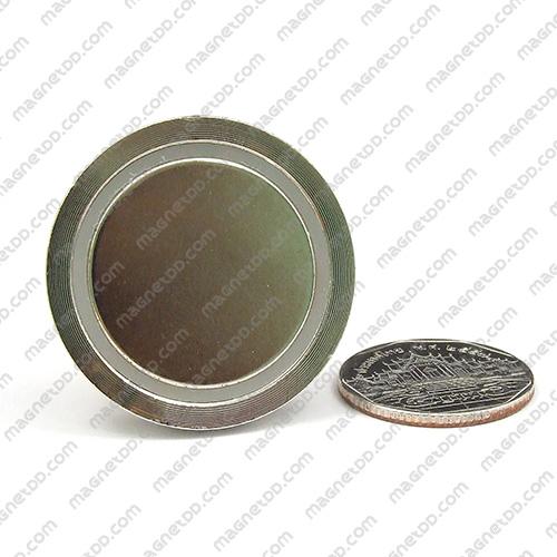ชุดตะขอแม่เหล็กสูง Neodymium ขนาด 36mm แม่เหล็กถาวรนีโอไดเมี่ยม NdFeB (Neodymium)